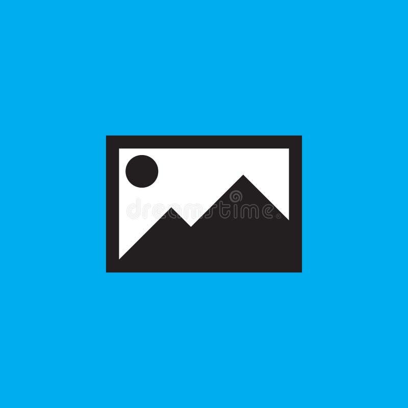 De vector van het beeldpictogram, illustratie van het beeld de stevige embleem, pictogram is royalty-vrije illustratie