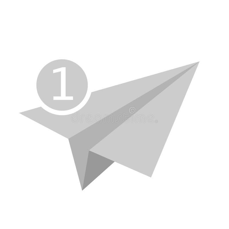 De vector van het berichtpictogram royalty-vrije illustratie