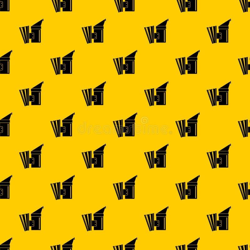De vector van het berokingspatroon vector illustratie