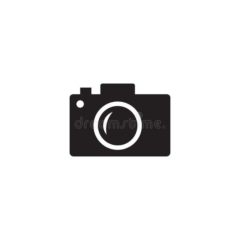 De Vector van het camerapictogram, Camerapictogram Camerasymbool voor uw websiteontwerp, embleem, app, UI royalty-vrije illustratie
