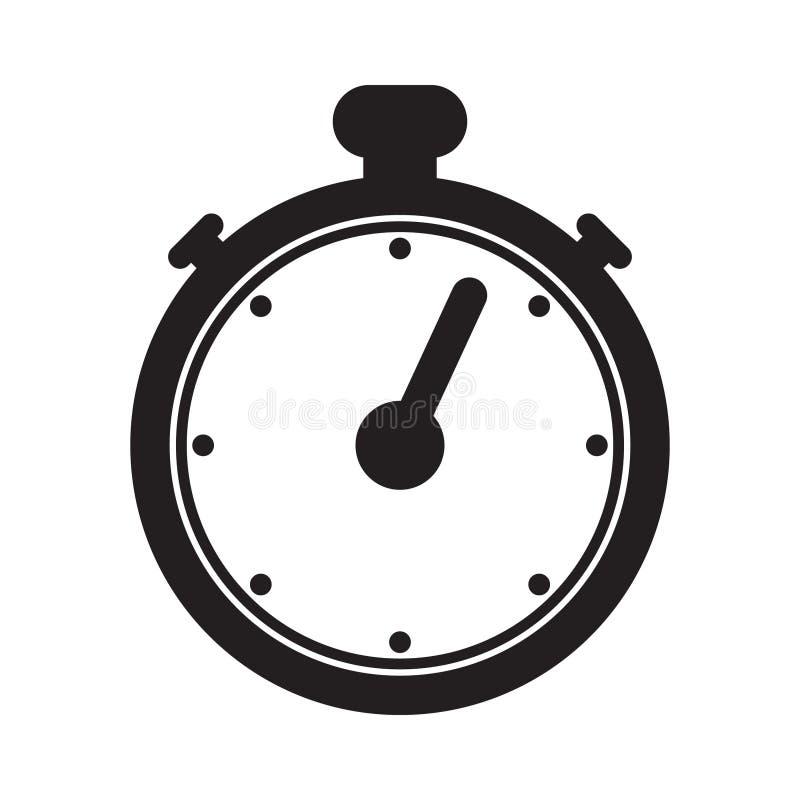 De vector van het chronometerpictogram stock illustratie