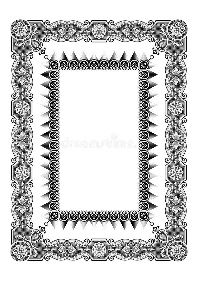 De vector van het frame vector illustratie