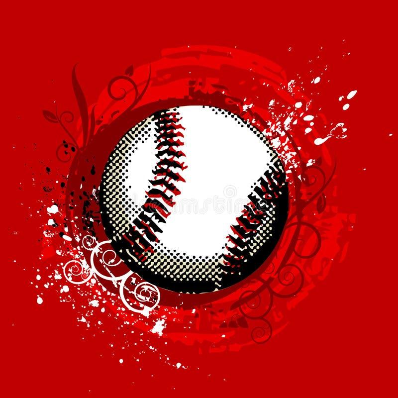 De vector van het honkbal stock illustratie