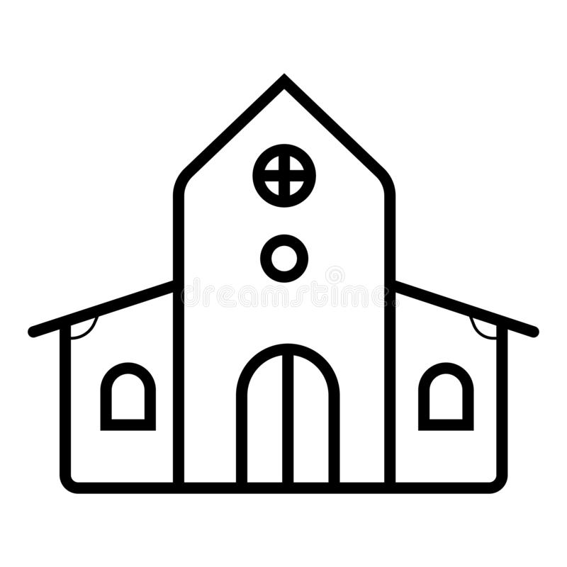 De vector van het huispictogram stock illustratie