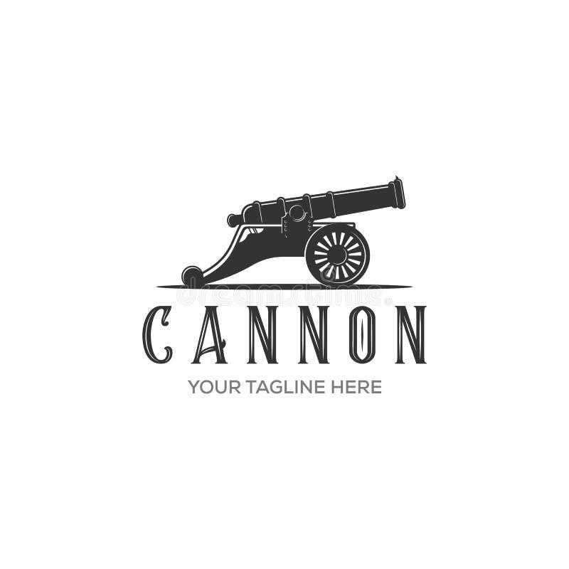 De vector van het kanonpictogram op witte achtergrond voor uw Web en mobiele toepassingontwerp wordt ge?soleerd, het concept dat  vector illustratie