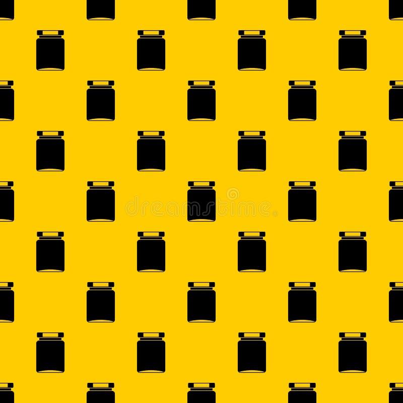De vector van het kruikpatroon stock illustratie