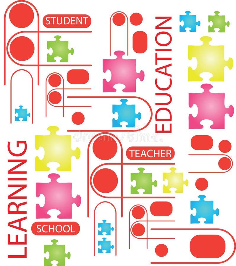 De Vector van het onderwijs royalty-vrije illustratie