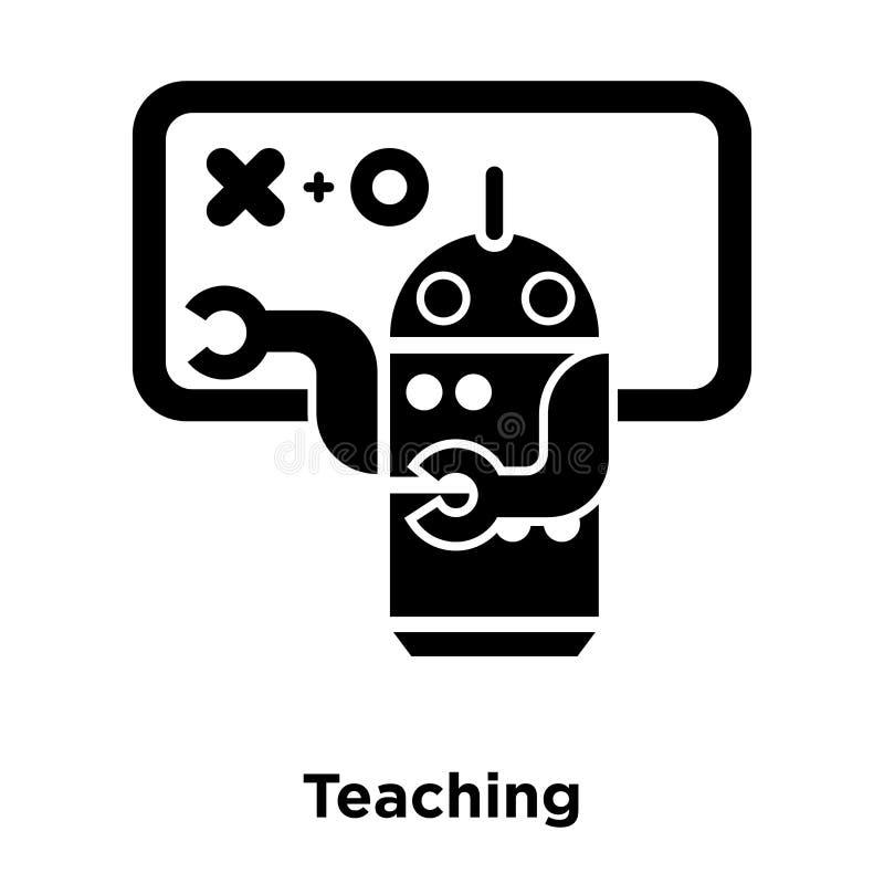 De vector van het het onderwijspictogram op witte achtergrond, embleemconcept wordt geïsoleerd dat stock illustratie