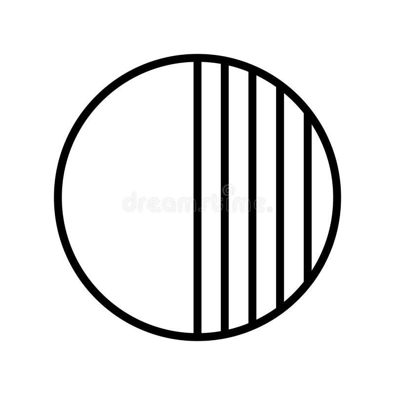 De vector van het opaciteitpictogram op witte achtergrond, Opaciteitteken wordt geïsoleerd dat vector illustratie