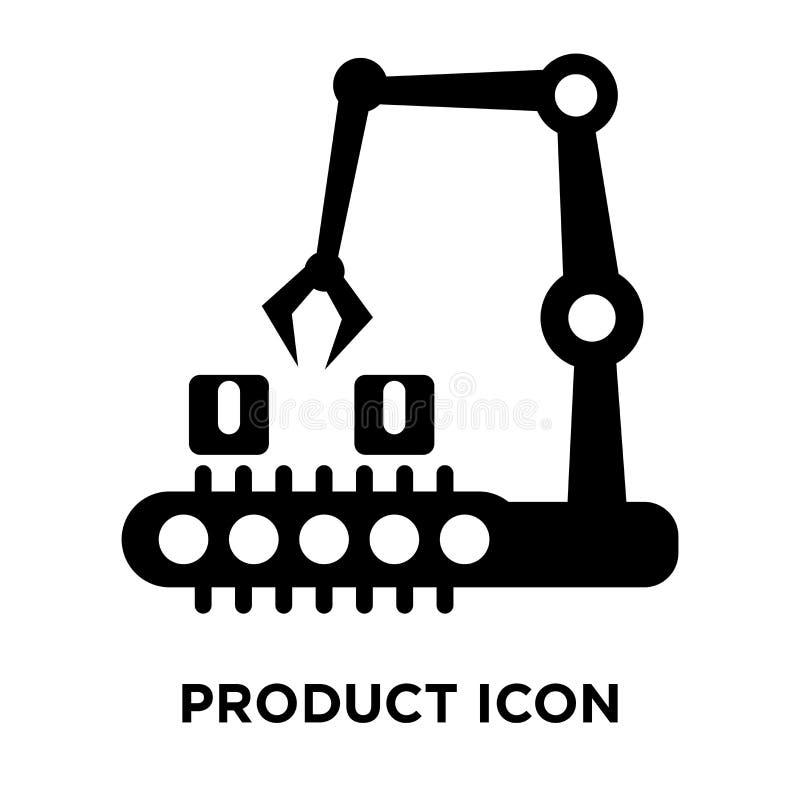 De vector van het productpictogram op witte achtergrond, embleemconcept o wordt geïsoleerd dat vector illustratie