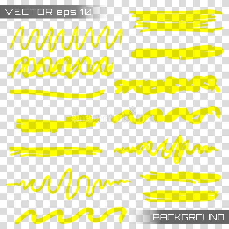 De vector van de hoogtepuntteller vector illustratie
