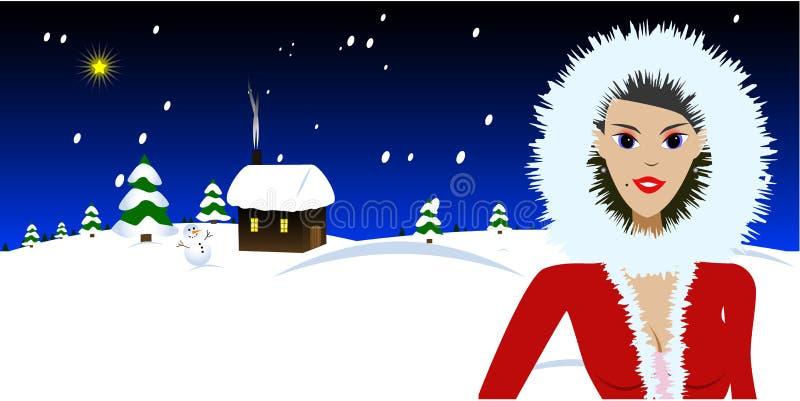 De Vector van Kerstmis stock illustratie