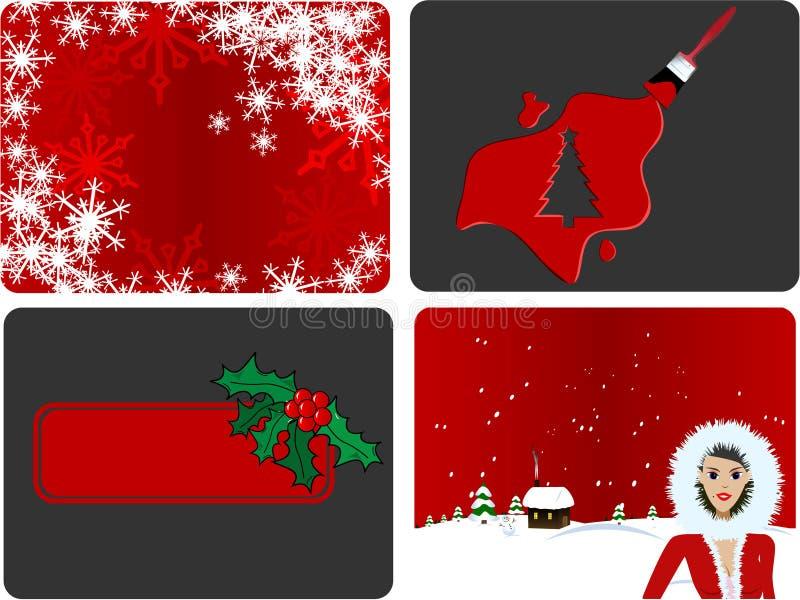 De Vector van Kerstmis royalty-vrije illustratie