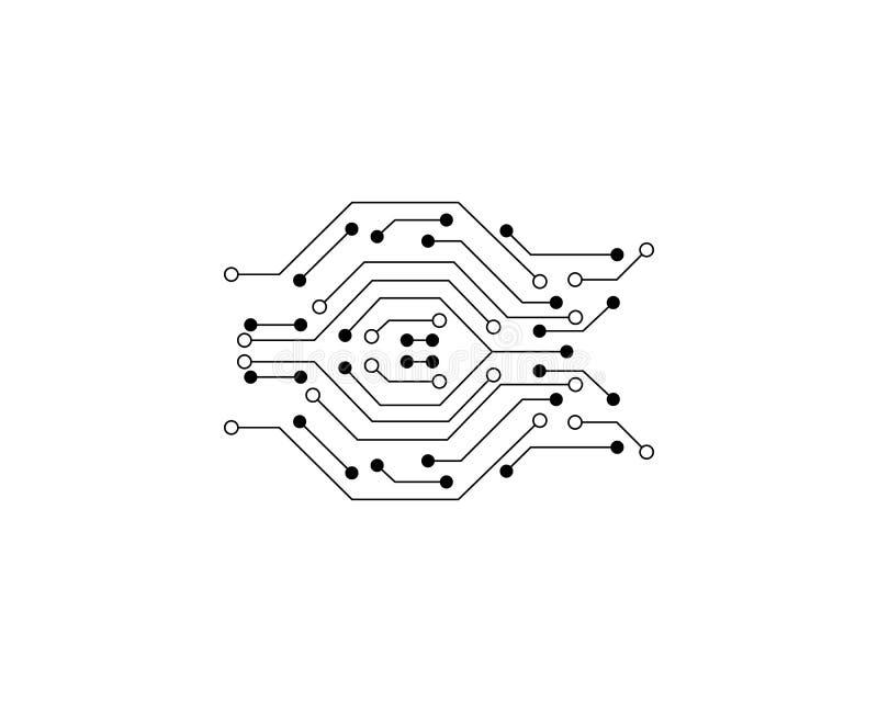De vector van kringslogo template vector illustratie