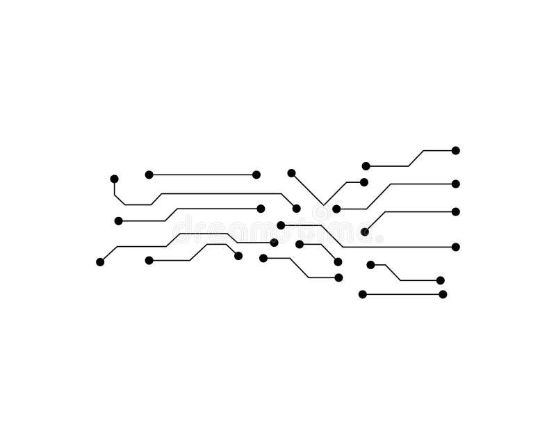 De vector van kringslogo template stock illustratie