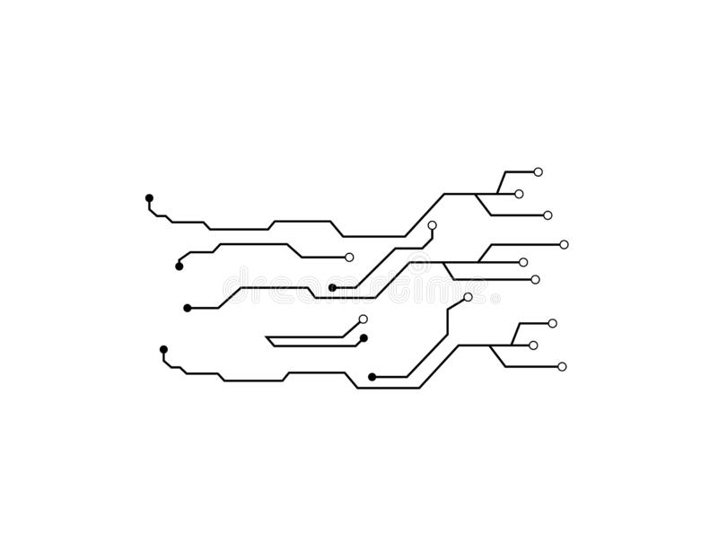 De vector van de kringsraad vector illustratie