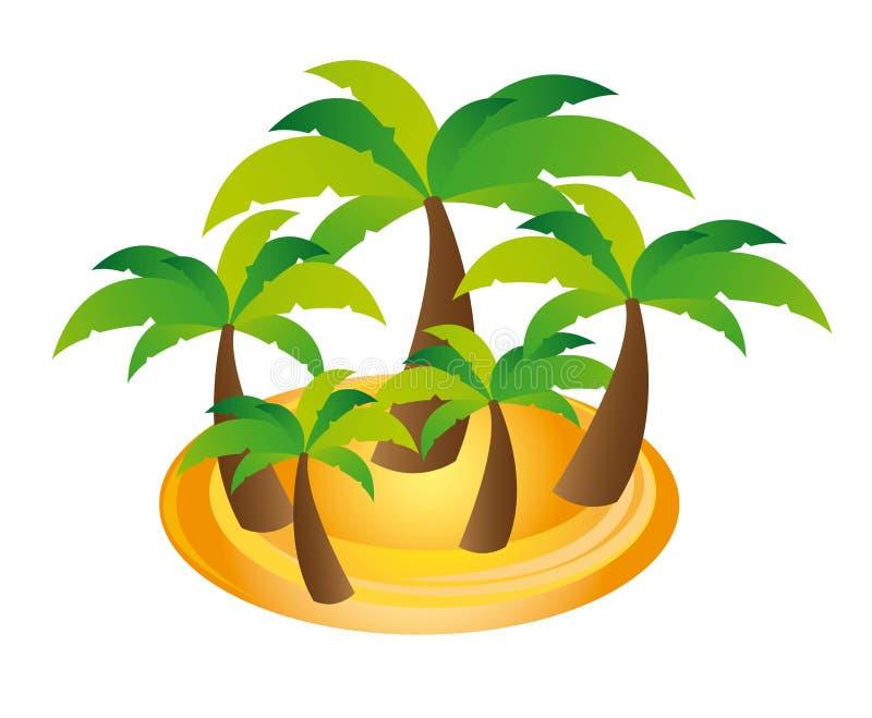 De vector van palmen