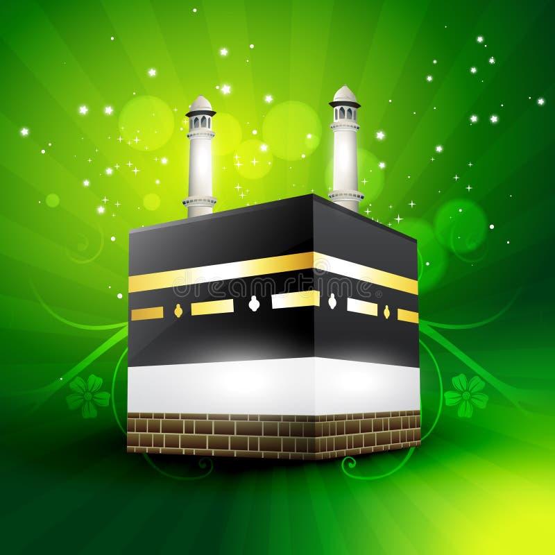De vector van Qaaba sharif stock illustratie