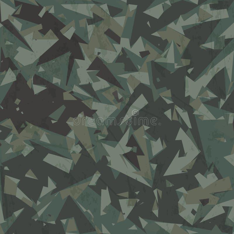 De vectorachtergrond van de legercamouflage vector illustratie