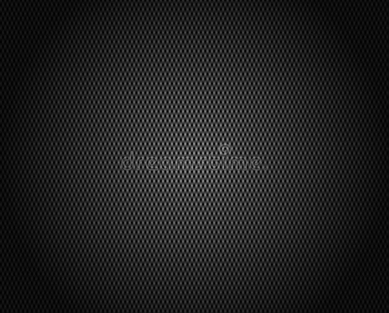 De VectorAchtergrond van de Vezel van de koolstof stock illustratie