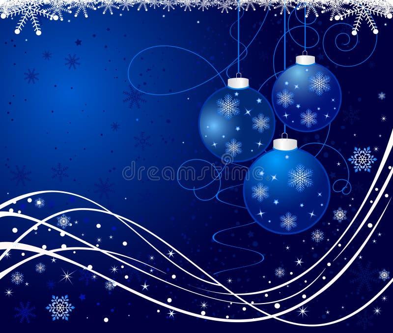 De vectorachtergrond van Kerstmis stock illustratie