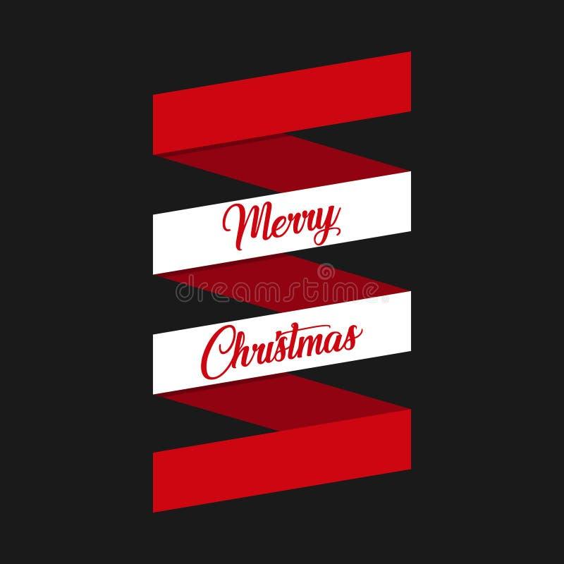 De vectoretiketten van Kerstmispunten royalty-vrije illustratie