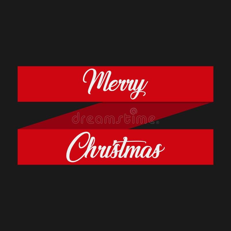 De vectoretiketten van Kerstmispunten stock illustratie