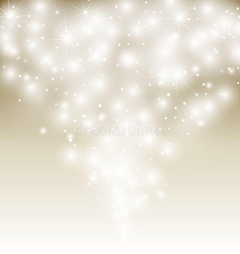 De vectorIllustratie van de sneeuw. De achtergrond van de winter vector illustratie