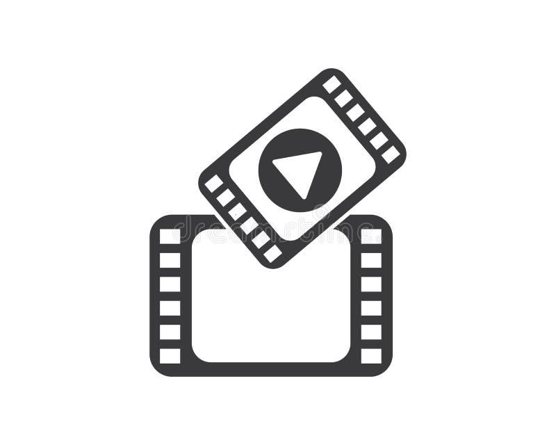 de vectorillustratie van filmstriplogo template vector illustratie