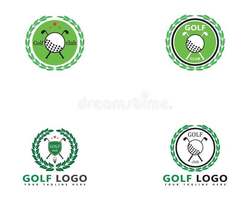 De vectorillustratie van golflogo template vector illustratie