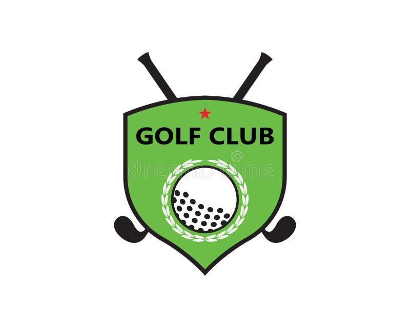 De vectorillustratie van golflogo template stock illustratie