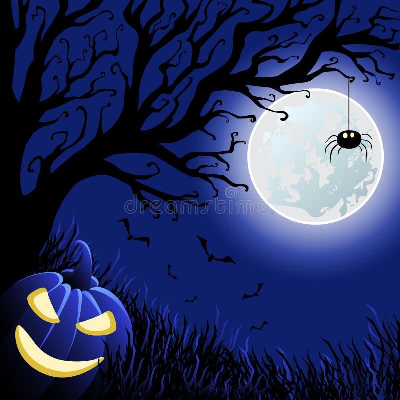 De vectorillustratie van Halloween royalty-vrije stock afbeeldingen