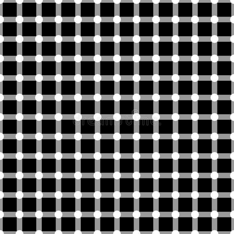 De vectorop achtergrond van het kunst naadloze patroon vector illustratie