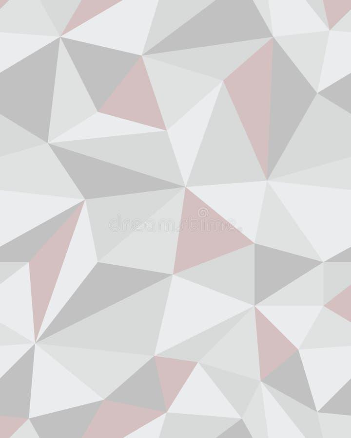 De veelhoekige achtergrond van de mozaïek abstracte meetkunde royalty-vrije stock afbeeldingen