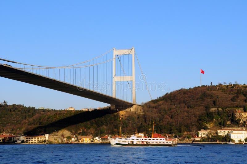 De Veerboot van Bosphorus stock fotografie