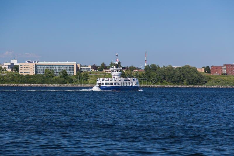 De Veerboot van Halifax en Dartmouth- royalty-vrije stock afbeeldingen