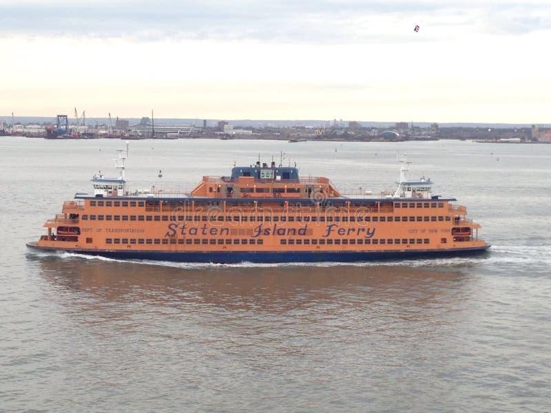 De Veerboot van het Eiland van Staten stock afbeeldingen