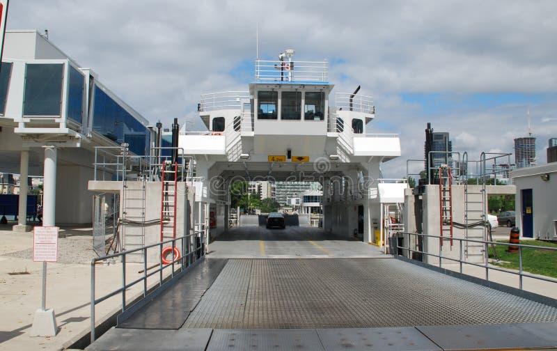De Veerboot van het Eiland van Toronto stock fotografie
