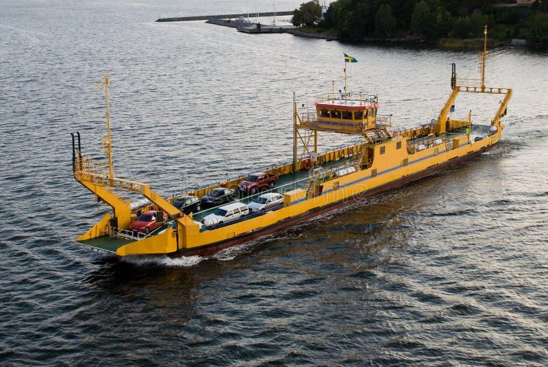 De Veerboot van het Vervoer van het voertuig royalty-vrije stock foto