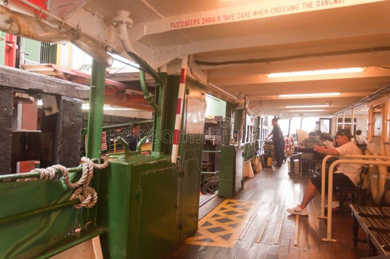 De Veerboot van Hongkong royalty-vrije stock afbeelding