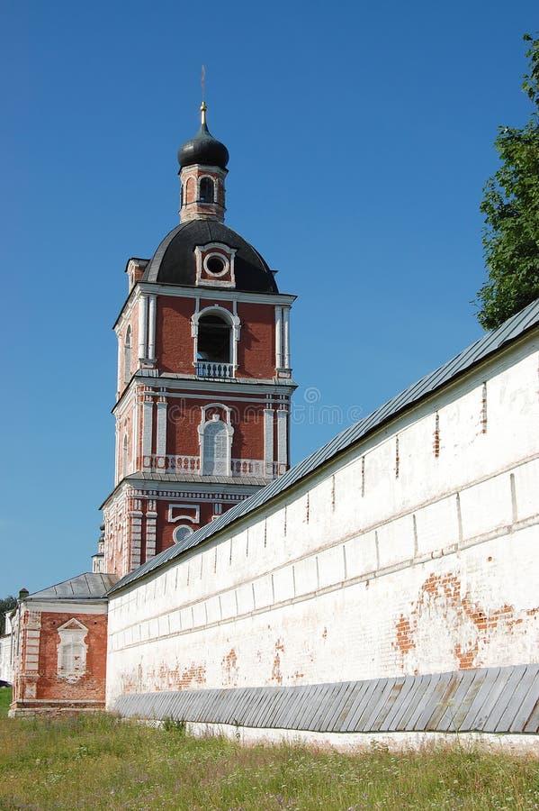 De veertiende eeuwklooster in Pereslavl royalty-vrije stock afbeelding
