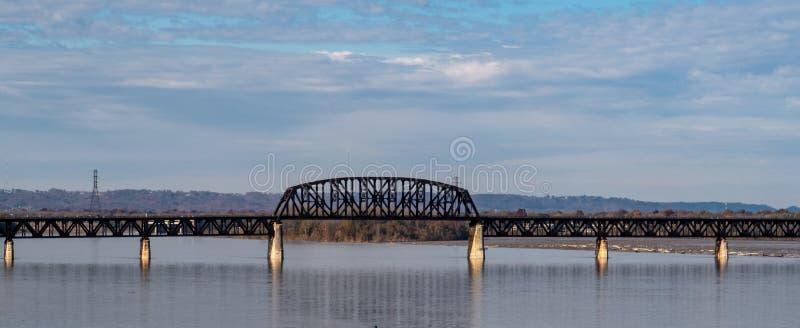 De Veertiende Straatbrug in Louisville stock afbeeldingen