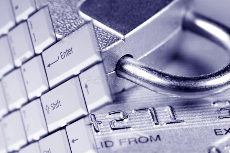 De Veiligheid van de Creditcard stock foto's