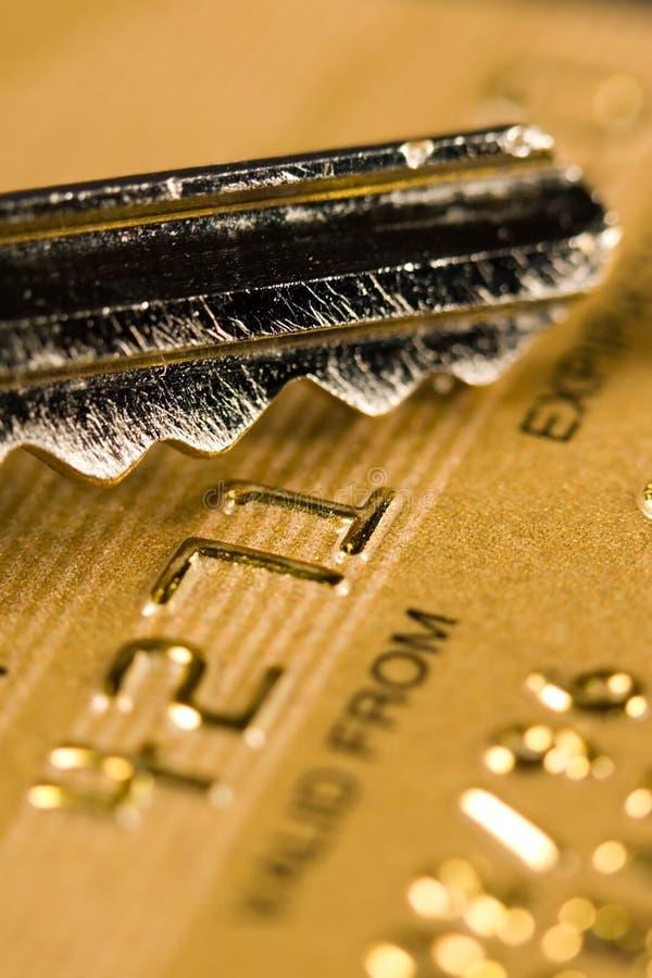 De Veiligheid van de Creditcard royalty-vrije stock afbeeldingen