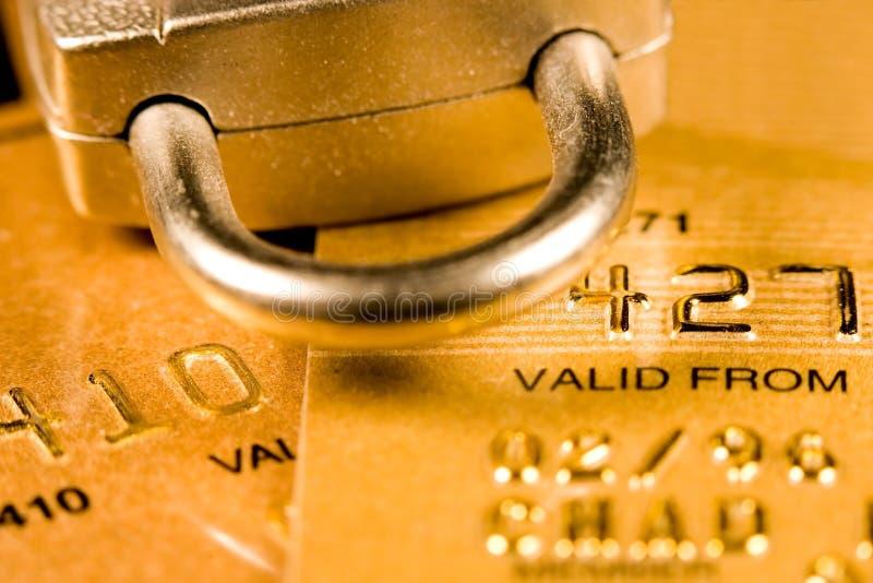 De Veiligheid van de Creditcard royalty-vrije stock fotografie