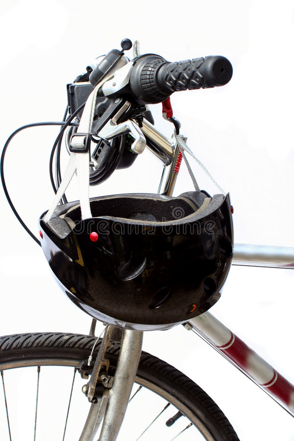 De veiligheid van de fiets stock fotografie