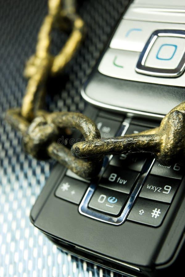 De veiligheid van het netwerk stock foto