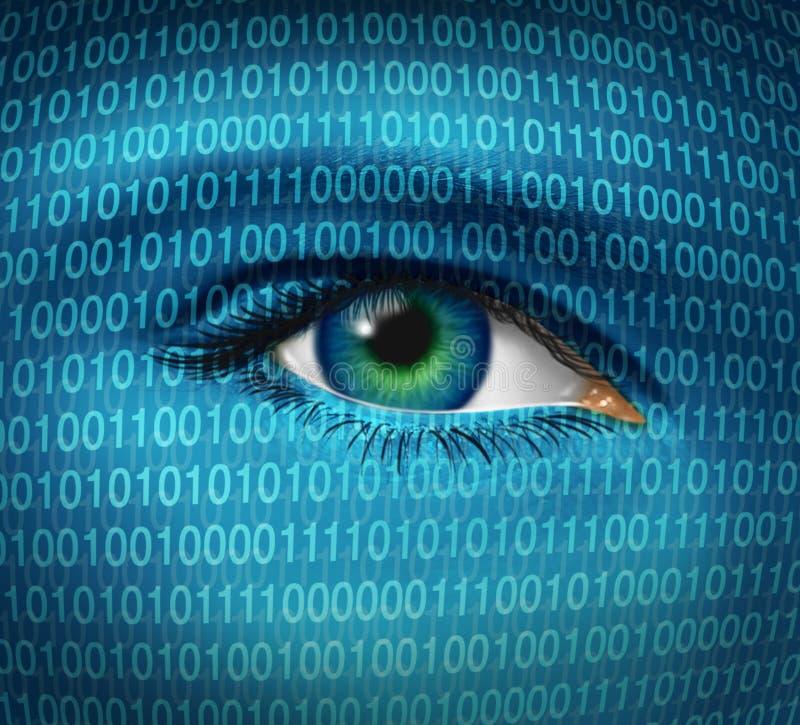 De Veiligheid van Internet vector illustratie