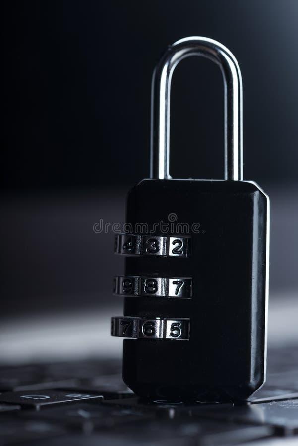 De veiligheid van privacy cyber Internet royalty-vrije stock foto's