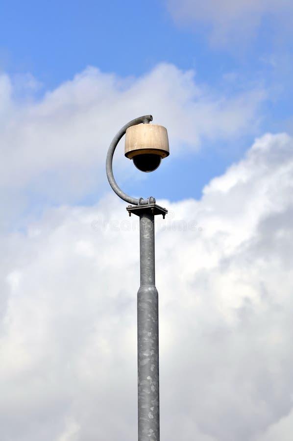 De veiligheidscamera van de luchthaven royalty-vrije stock foto